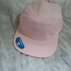 Adidas Men's Originals 5-Panel Hat Clear Pink NWT